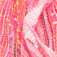 Scarves and Wraps: Crisp Linen Collection XIIX Chevron Pleat Infinity Scarf