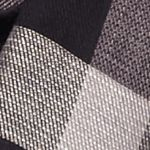 Juniors Scarves: Black Collection XIIX Basic Plaid Infinity Scarf