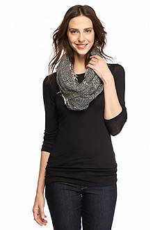 Collection XIIX Simple Net Infinity Scarf