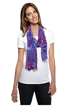 Collection XIIIX African Violet Scarf