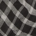 Scarves and Wraps: Black Collection XIIX Classic Plaid Square Scarf