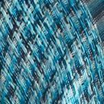 Women's Shrugs: Capri Blue Collection XIIX Ikat Woven Ruana