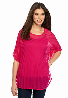 Collection XIIX Pleated Poncho