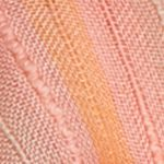Scarves and Wraps: Coral Collection XIIX Striped Layered Triangle Scarf