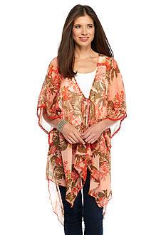 Collection XIIX New Horizons Printed Kimono