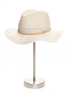 Collection XIIX Lace Panama Hat