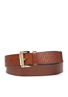 Michael Kors Emboss Monogram Belt