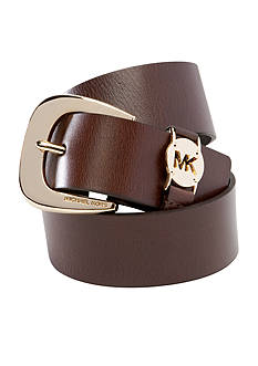 Michael Kors Leather Logo Belt