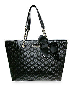 Betsey Johnson Be My One and Only Now Tote