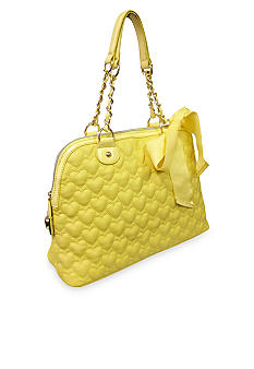 Betsey Johnson Be My One & Only Dome Satchel
