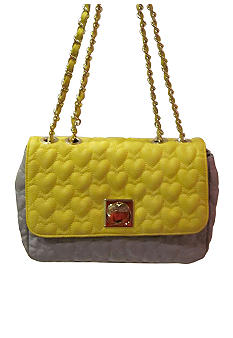 Betsey Johnson Be My One & Only Flapover Shoulder Bag