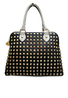 Betsey Johnson Spring Studdin Dome Satchel