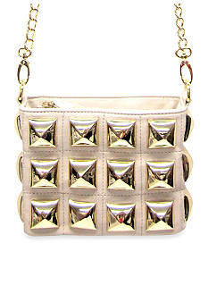 Betsey Johnson Stud Muffin Crossbody