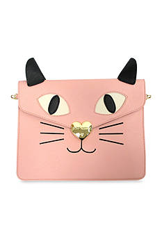 Betsey Johnson Kitchi Cat Clutch