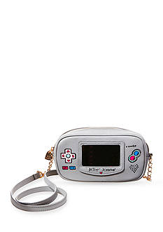 Betsey Johnson Game Girl Crossbody Bag