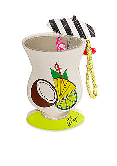 Betsey Johnson Kitsch Island Cocktail Wristlet