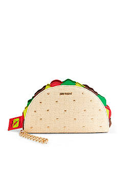 Betsey Johnson Kitsch Taco Wristlet