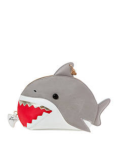 Betsey Johnson Shark Cosmetic Bag