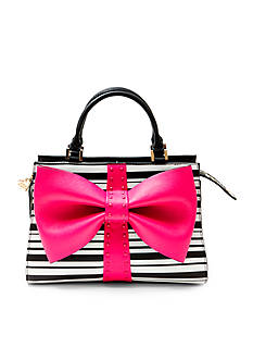 Betsey Johnson Curtsy Bow Satchel