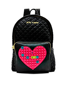 Betsey Johnson Buy Me A Vowel Backpack