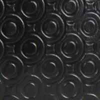 Handle and Tote Bags: Black Embossed London Fog THAMES MINI TOTE