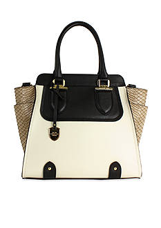 London Fog Kensington North South Satchel
