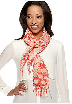New Directions® Etched Floral Neckwrap