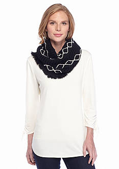 New Directions Diamond Infinity Scarf