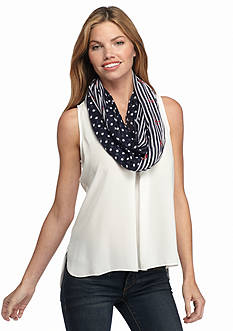 New Directions Nantucket Nautical Infinity Scarf