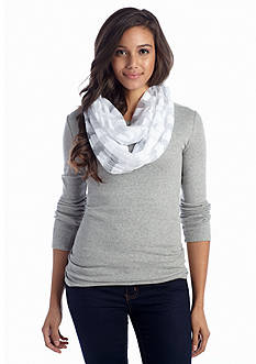 New Directions Jersey Burnout Infinity Scarf