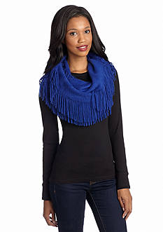 New Directions Brushed Caterpillar Infinity Scarf