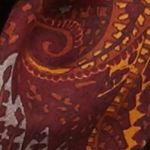 New Directions Juniors Sale: Warms New Directions Autumnal Paisley Infinity Scarf