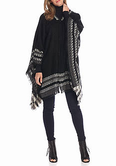 New Directions Cross Roads Hooded Poncho