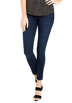 SPANX Cropped Indigo Knit Leggings
