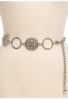 New Directions Braided Circle and Filigree Belt