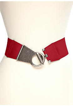 New Directions Textured Stretch Belt