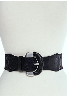 New Directions® Snake Print Stretch Belt