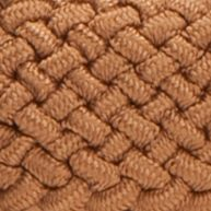 Belts for Women: Tan/Khaki New Directions Fabric Stretch Braided Belt