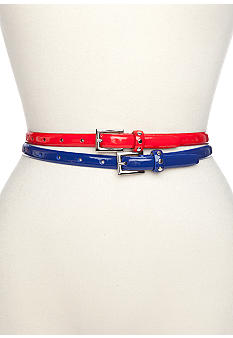 New Directions Set of Two Patent Belts