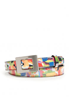 New Directions Multicolor Print Belt