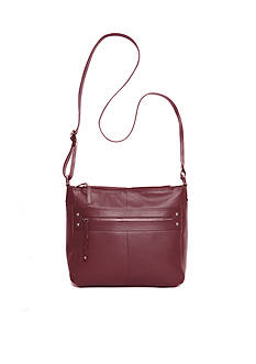 Kim Rogers Siena Leather Bucket Crossbody