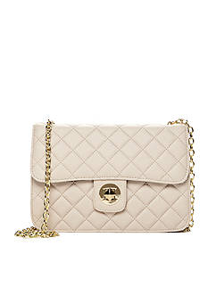 Del Mano Quilted Chain Shoulder Bag