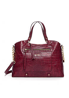 Del Mano Croco Chain Shoulder Bag