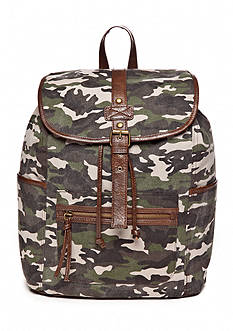 Del Mano Fabulous Camo Backpack