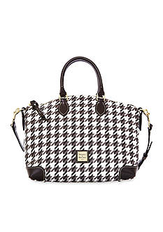 Dooney & Bourke Houndstooth satchel