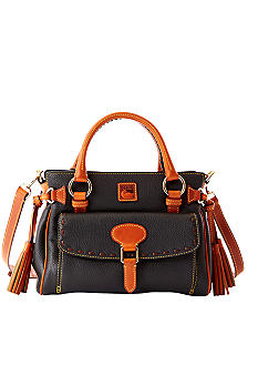 Dooney & Bourke Leather Medium Pocket Satchel