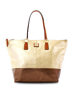 Dooney & Bourke Metallic O-Ring Shopper