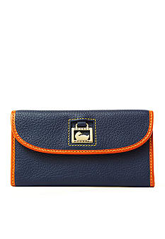 Dooney & Bourke Leather Continental Clutch