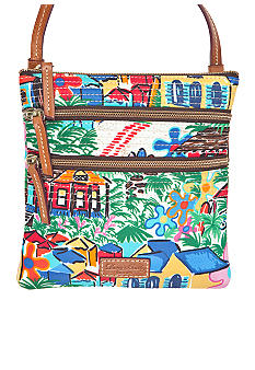 Dooney & Bourke Novelty Print Nylon Crossbody