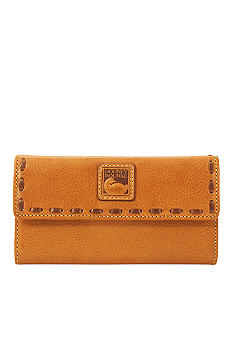Dooney & Bourke Florentine Vachetta Leather Continental Clutch